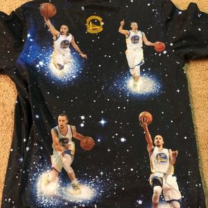 Youth Steph Curry shirt